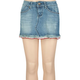 YMI Ruffle Bottom Girls Denim Skirt