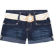 YMI Crochet Belt Girls Denim Shorts
