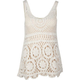 LOST Crochet Womens Tank