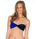 VOLCOM Simply Solid Twisted Bandeau Bikini Top