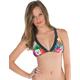 VOLCOM Tropical Trip X Back Halter Bikini Top