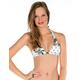 VOLCOM Dotted Line Reversible Halter Bikini Top