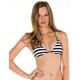 VOLCOM Dotted Line Triangle Bikini Top