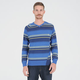 VOLCOM Understated Stripe Mens Sweater