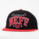NEFF Team Cap Mens Snapback Hat
