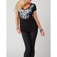 METAL MULISHA Demeanor Womens Tee