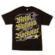 METAL MULISHA Black Letter Rockstar Mens T-Shirt