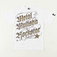METAL MULISHA Black Letter Rockstar Mens T-Shirt