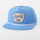 RUSTY Fins Out Mens Snapback Hat