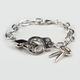 FULL TILT Handcuff Charm Bracelet