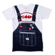 FMF RM Overalls Tee