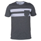 HURLEY Block Riot Mens Pocket Tee