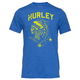 HURLEY Black Party Native Mens T-Shirt
