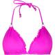 VITAMIN A Rio Ruffle Rev. Halter Bikini Top