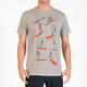 VOLCOM Skeleton Surf Lesson Mens T-Shirt