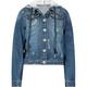 HIGHWAY Girls Hooded Denim Jacket