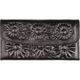 Embossed Daisy Wallet