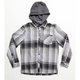 O'NEILL Revive Boys Hooded Flannel Shirt