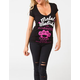 METAL MULISHA Guaranteed Tough Womens Tee