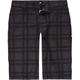 DC Plaid Chino Boys Shorts