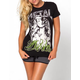 METAL MULISHA Not Forgotten Womens Tee