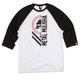 METAL MULISHA Withdrawn Mens Baseball Tee