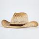 Open Weave Womens Cowboy Hat
