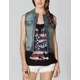 TRUE SOULMATE Womens Denim Vest