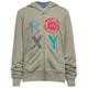 ROXY Logo Texture Girls Hoodie