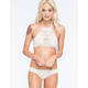 QUINTSOUL Crochet Shimmer High Neck Bikini Top