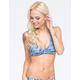 QUINTSOUL Criss Cross Bralette Bikini Top