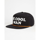 CAPTAIN FIN Be Cool Man Mens Snapback Hat