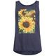 FULL TILT Be Happy Sunflower Girls Tank
