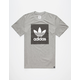 ADIDAS Solid Logo Fill Mens T-Shirt