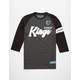 HOONIGAN Burnout Kings Mens Baseball Tee
