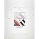 HURLEY Box Stripe Fill Mens T-Shirt
