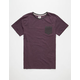 QUIKSILVER Feeder Mens Pocket Tee