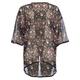 FULL TILT Crochet Trim Floral Kimono