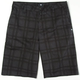DC Plaid Mens Chino Shorts