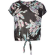 FULL TILT Tie Front Chiffon Girls Top