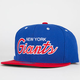 MITCHELL & NESS New York Giants Mens Snapback Hat