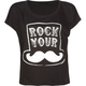O'NEILL Rock Your Stache Womens Tee