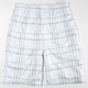 BURNSIDE Assist Mens Mesh Shorts