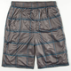 BURNSIDE Fast Break Mens Mesh Shorts