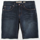RSQ London Skinny Mens Cutoff Denim Shorts