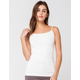 FULL TILT Essential Ivory Womens Seamless Cami