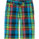VOLCOM Graduated Plaid Boys Shorts