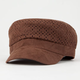 Perforated Suede Hat