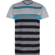 BLUE CROWN River Jetty Nouveau Mens T-Shirt