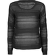 FULL TILT Open Weave Womens Crop Sweater
